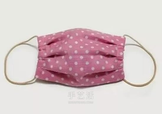 儿童口罩的制作方法 孩子用布艺口罩DIY图解 -  www.shouyihuo.com