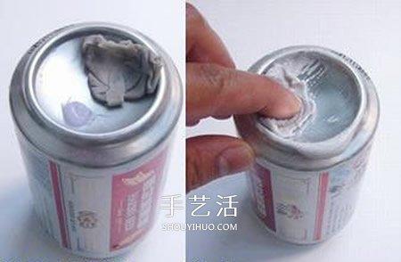 自制取火凹面镜的方法 易拉罐做凹面镜小实验 -  www.shouyihuo.com