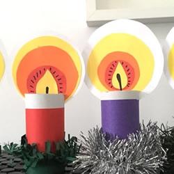 简单漂亮圣诞蜡烛制作 儿童做圣诞节蜡烛教程