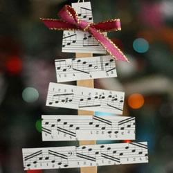 文艺范儿圣诞树的做法 圣诞树挂饰怎么做教程