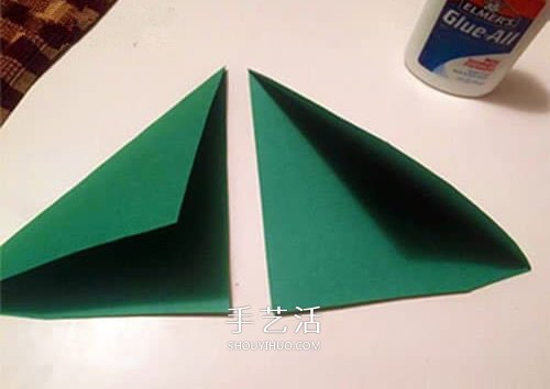 简略圣诞树挂饰的做法 用卫生纸筒做圣诞树 -  www.shouyihuo.com