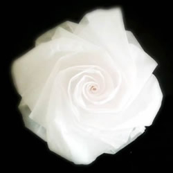 妮妮玫瑰的折法图解 手工漂亮纸玫瑰折纸步骤