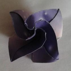 钻石玫瑰折法图解步骤 梦幻钻石玫瑰花折纸