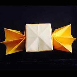怎样折糖果型的盒子 糖果造型盒子的折法图解