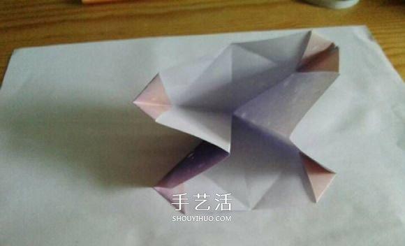 钻石玫瑰折法图解步骤 梦幻钻石玫瑰花折纸 -  www.shouyihuo.com