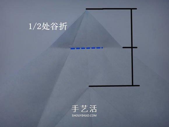 企鹅母子的折法图解 一张纸折两只企鹅步骤