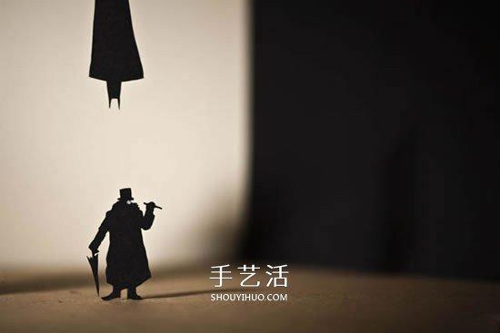 充满魅力的卡纸剪纸 DIY生动的剪影照片 -  www.shouyihuo.com