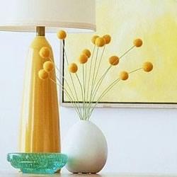 羊毛毡插花装饰品DIY 只要把羊毛搓成球就可以