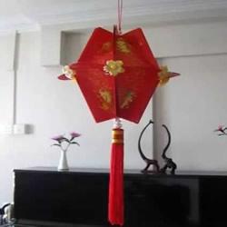 红包怎么做手工 用红包制作新年灯笼的方法