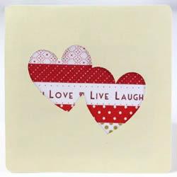 爱心励志卡片制作图解 也可用在情人节等节日