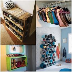 15种自制鞋架的创意 把家中整理的井井有条