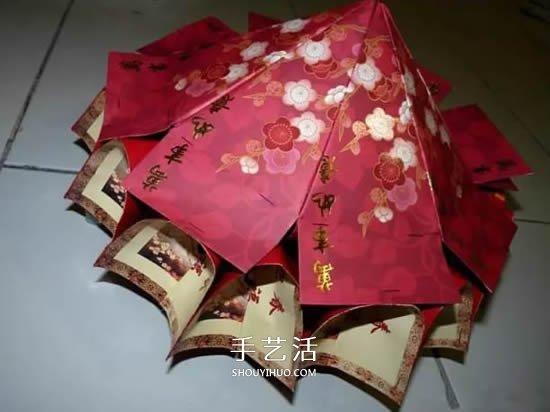 红包走马灯的制作方法 怎么做新年走马灯图解 -  www.shouyihuo.com