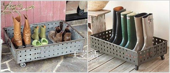 15种自制鞋架的创意 把家中整理的井井有条 -  www.shouyihuo.com