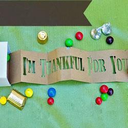 创意感恩节礼物DIY图解 漂亮礼品盒手工制作