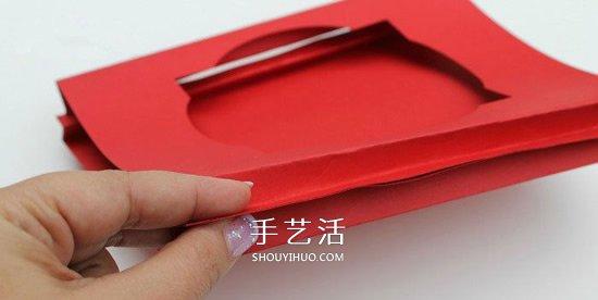 创意又漂亮的立体情人节贺卡手工制作教程 -  www.shouyihuo.com