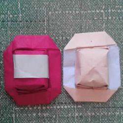 简单小帽子的折纸方法 带帽檐帽子怎么折图解