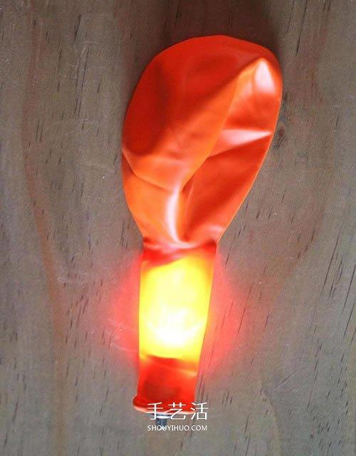 简单又漂亮万圣节装饰 用气球制作南瓜灯挂饰 -  www.shouyihuo.com