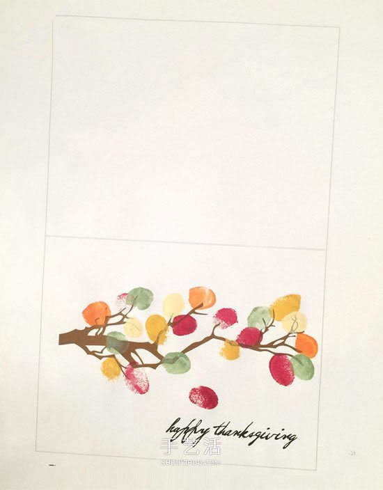 亲手做感恩节贺卡的方法 怎么做感谢卡片教程 -  www.shouyihuo.com