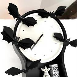 卡纸做小蝙蝠的教程 万圣节简单蝙蝠装饰DIY