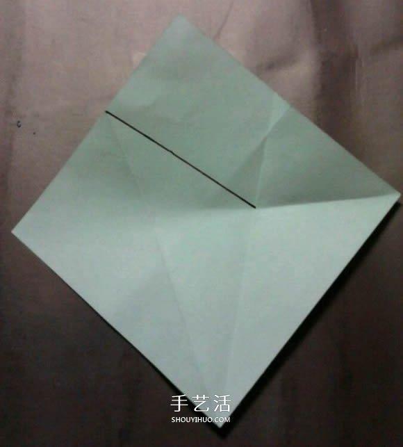 超详细步骤:手工凡尔塞玫瑰盒子的折法图解 -  www.shouyihuo.com