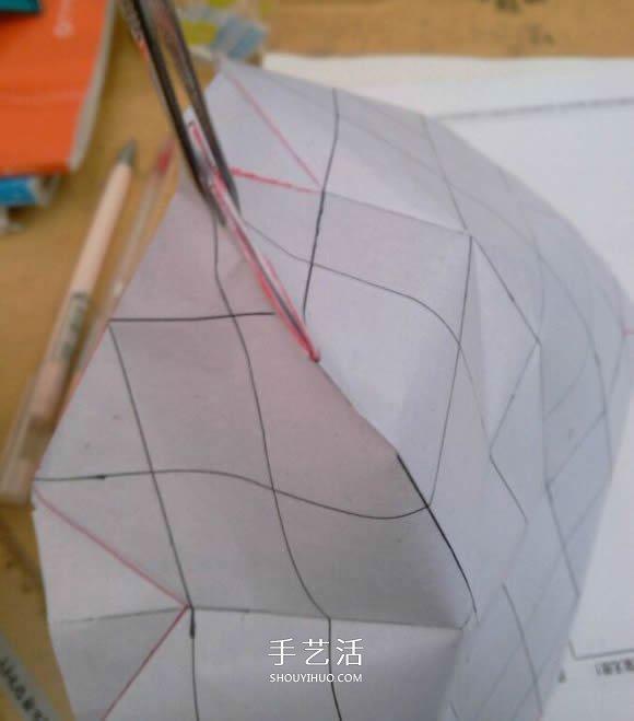 罗斯巴德玫瑰花的折法 折纸卷心福山的步骤图 -  www.shouyihuo.com
