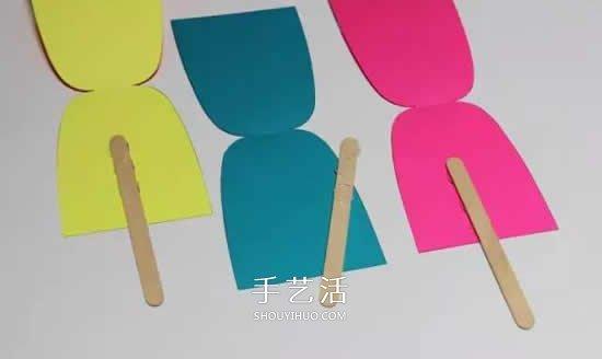 夏天雪糕挂饰手工制作 卡纸做漂亮装饰的方法 -  www.shouyihuo.com