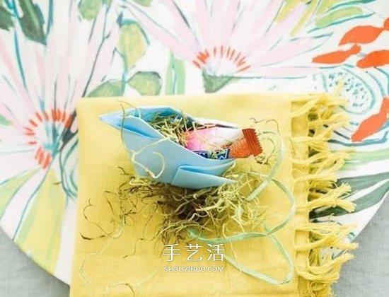好看又实用!大母鸡糖果收纳盒的折纸方法 -  www.shouyihuo.com