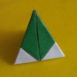 粽子的折法图解简单 纸粽子怎么折的教程