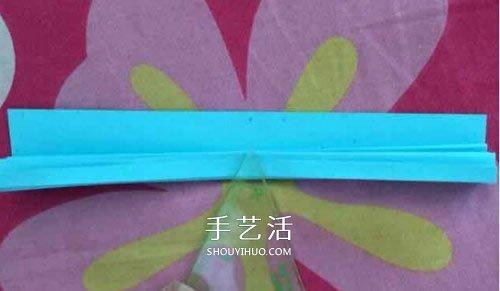 带翅膀灯笼的折纸方法 带穗子纸灯笼折法图解图片
