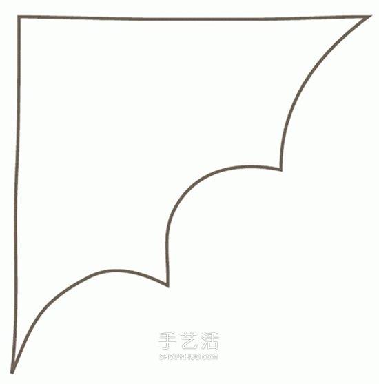 儿童蝙蝠衣制作方法 自制万圣节蝙蝠服装图解 -  www.shouyihuo.com