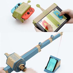 任天堂 Switch 与硬纸板手作游戏新玩法