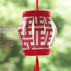 中国风灯笼制作方法 年味十足的纸杯灯笼DIY