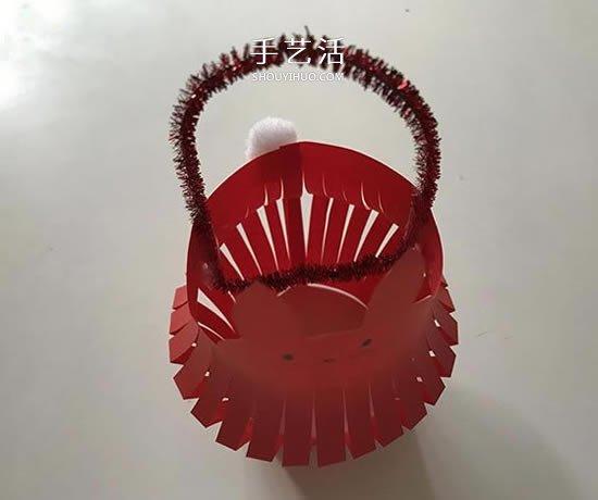 中秋节兔子灯笼的折纸方法 可改造成新年灯笼 -  www.shouyihuo.com