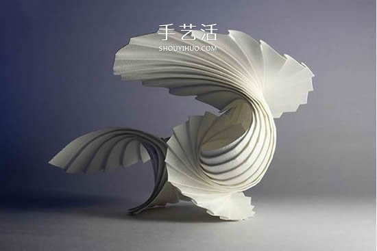 手工纸艺简介,表现形式与纸艺术品的审美图片