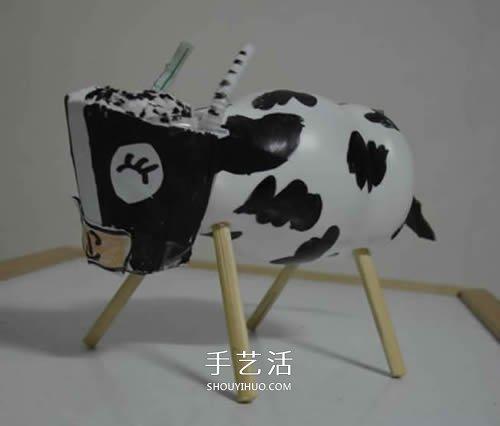 幼儿园手工小动物图片 用塑料瓶做可爱的动物 -  www.shouyihuo.com