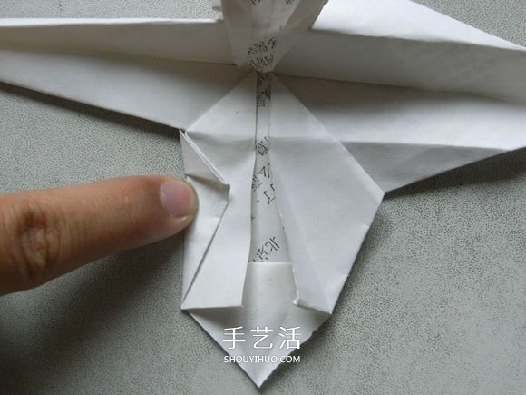 阿凡达毒蝎直升飞机的折纸方法图解教程