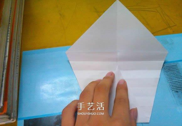 简单鹦鹉螺的折法图解 折纸海洋贝壳生物教程