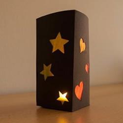 卡纸做灯笼的方法图解 简单又好看卡纸灯饰DIY