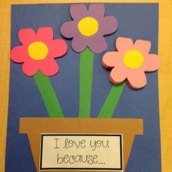 简单又可爱的教师节花朵贺卡手工制作图解