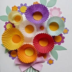 简单又美丽的贺卡做法 用蛋糕纸制作教师节贺卡