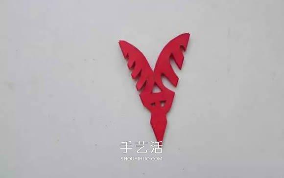 如雪花般美丽!手工剪纸窗花的剪法图解教程 -  www.shouyihuo.com