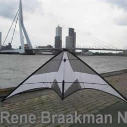 一步步教你学!翻滚特技风筝的制作方法过程