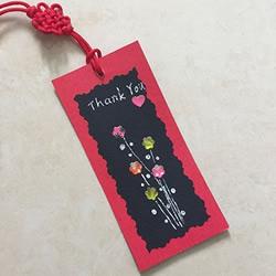 教师节小礼物手工制作 好看卡纸书签的做法