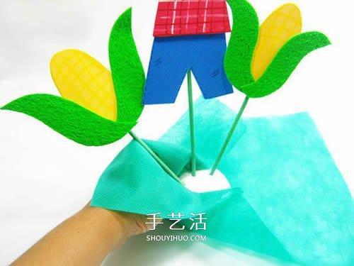 简单稻草人的做法图解 手工制作稻草人装饰品 -  www.shouyihuo.com