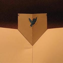 简易手工贺卡的制作教程 打开后跳出可爱小鸟