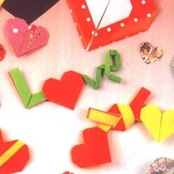 爱心怎么折?76种简单心形的折纸方法图解大全