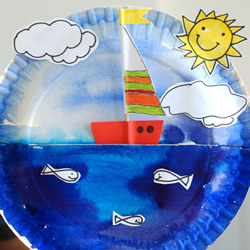 手工做帆船玩具的方法 可以让它在大海上航行