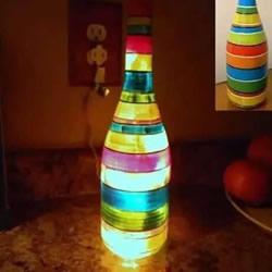 酒瓶的改造创意!你还舍得扔掉生活垃圾吗?