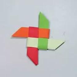 变身神出鬼没小忍者!简单又漂亮纸飞镖的折法