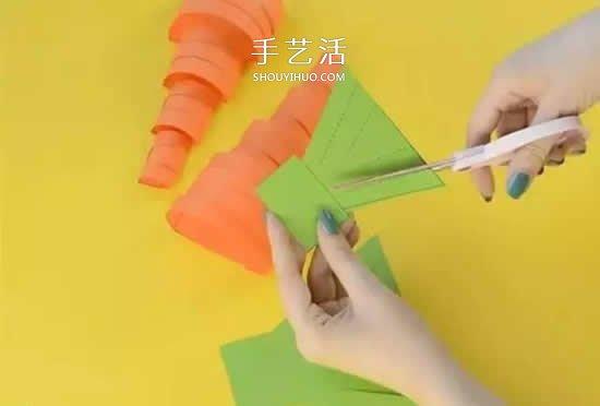 幼儿园彩色卡纸手工制作 简单diy可爱小动物图片